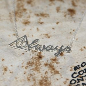 """Harry Potter """"Always"""" Necklace - Silver"""